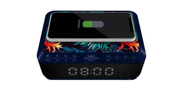 Radio réveil avec chargeur sans fil RR140IJUNGLE BIGBEN – Visuel