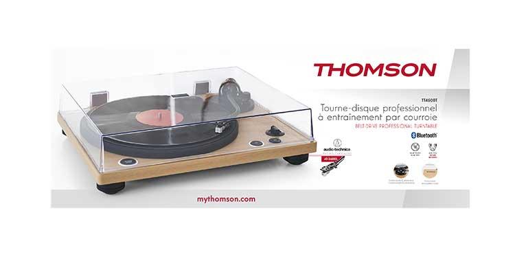 Tourne-disques professionnel TT450BT THOMSON - Visuel#2tutu#4tutu