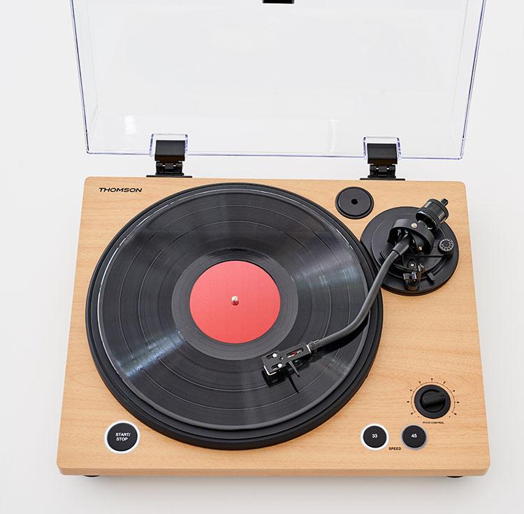 Tourne-disques professionnel TT450BT THOMSON - Visuel#2tutu#4tutu#6tutu#7