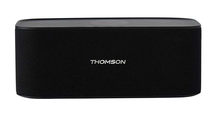 Enceinte sans fil avec chargeur sans fil WS06IPB THOMSON - Packshot