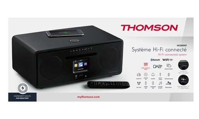 Système Hi-Fi connecté tout-en-un MIC500IWF THOMSON – Visuel#2tutu#4tutu#5