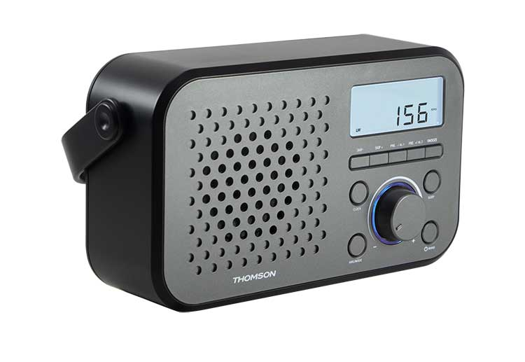 Radio portable RT300 THOMSON - Visuel