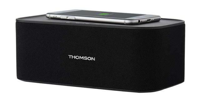 Enceinte sans fil avec chargeur sans fil WS06IPB THOMSON – Visuel