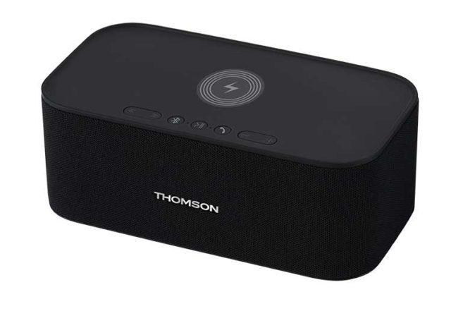 Enceinte sans fil avec chargeur sans fil WS06IPB THOMSON – Visuel#2tutu#4tutu