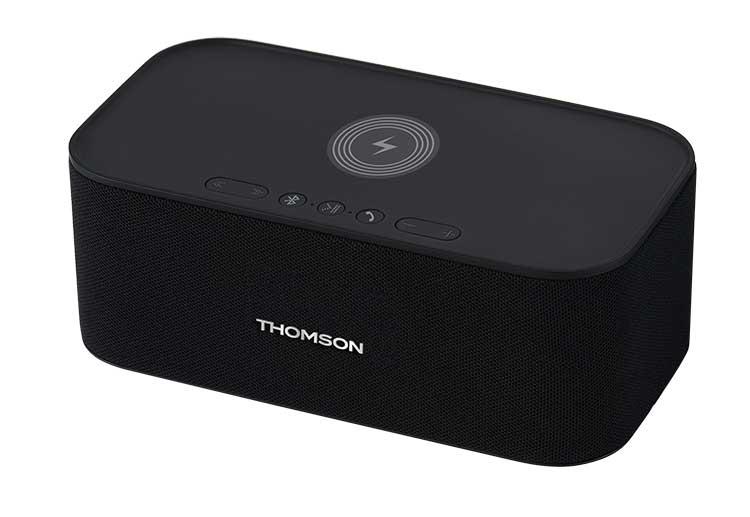Enceinte sans fil avec chargeur sans fil WS06IPB THOMSON - Visuel#2tutu#4tutu