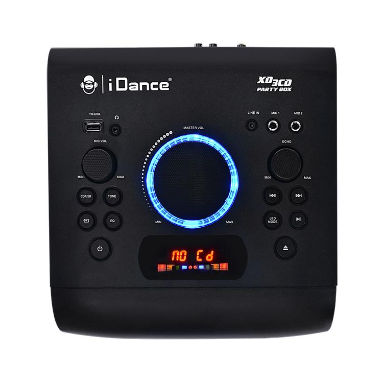 Système bluetooth tout en un + lecteur CD XD3CD I DANCE - Visuel#2tutu#3