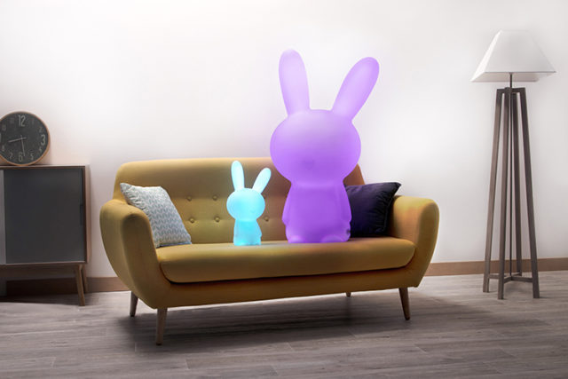 Enceinte sans fil lumineuse lapin BTLSRABBITXL BIGBEN – Visuel#1