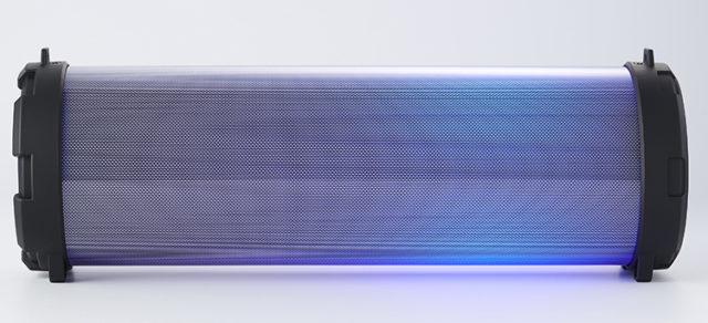 Enceinte bluetooth® lumineuse CYCLONE401BK I DANCE – Visuel#1
