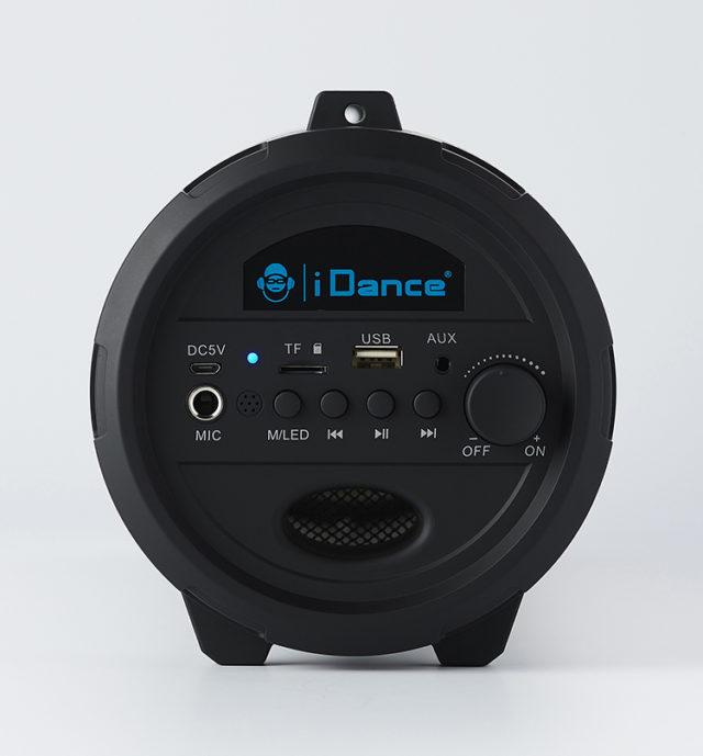 Enceinte bluetooth® lumineuse CYCLONE401BK I DANCE – Visuel#2tutu#4tutu#6tutu