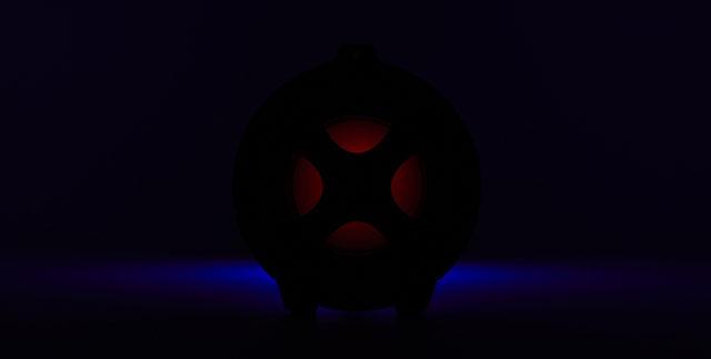 Enceinte bluetooth® lumineuse CYCLONE401BK I DANCE – Visuel#2tutu#4tutu#6tutu#7