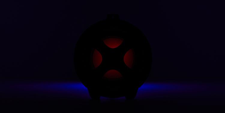 Enceinte bluetooth® lumineuse CYCLONE401BK I DANCE - Visuel#2tutu#4tutu#6tutu#7