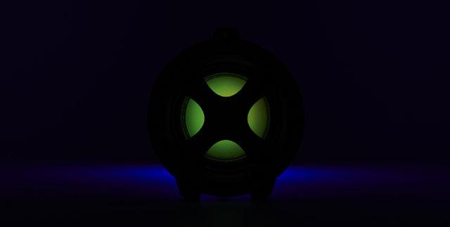 Enceinte bluetooth® lumineuse CYCLONE401BK I DANCE – Visuel#2tutu#4tutu#6tutu#8tutu