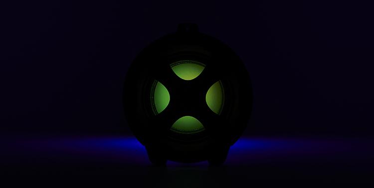 Enceinte bluetooth® lumineuse CYCLONE401BK I DANCE - Visuel#2tutu#4tutu#6tutu#8tutu