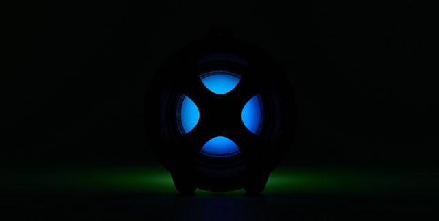Enceinte bluetooth® lumineuse CYCLONE401BK I DANCE – Visuel#2tutu#4tutu#6tutu#8tutu#9