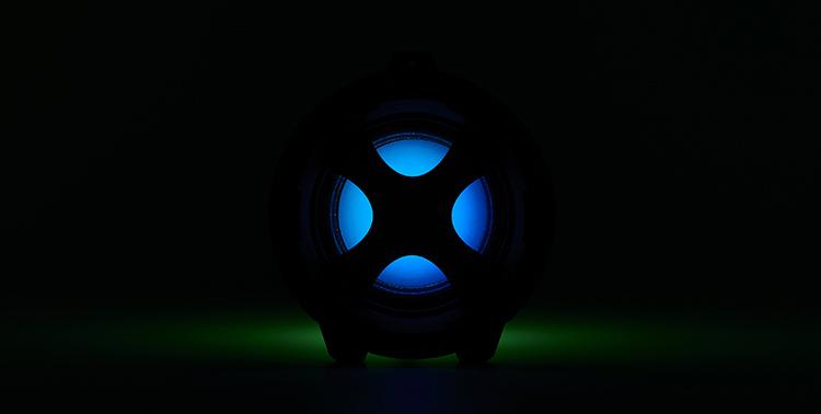 Enceinte bluetooth® lumineuse CYCLONE401BK I DANCE - Visuel#2tutu#4tutu#6tutu#8tutu#9