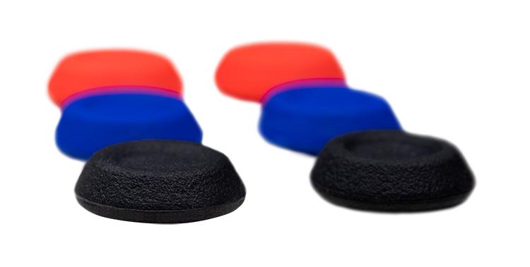 ensemble de 3 paires de grips pour manette dualshock®4 - Visuel
