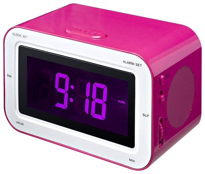 RR30 Clock Radio + Stickers (Pink) - Image   #4