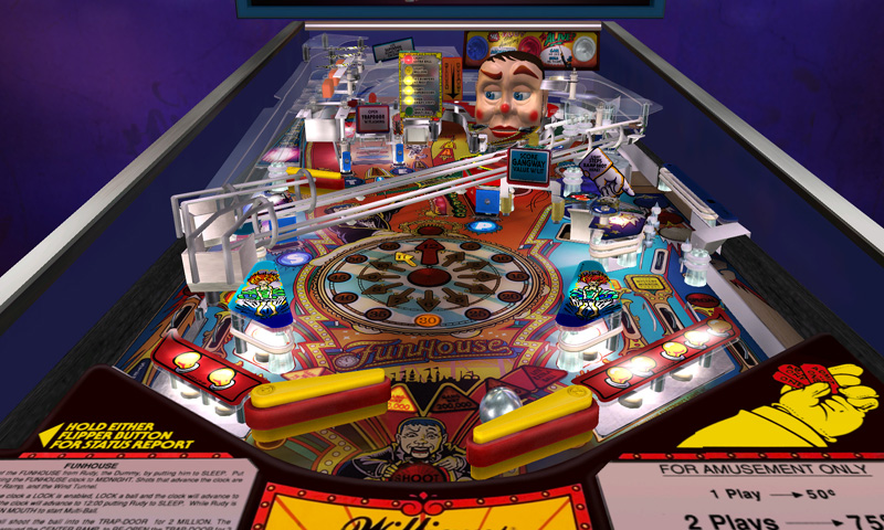 Pinball Hall of Fame: The Williams Collection 3D - Screenshot #1