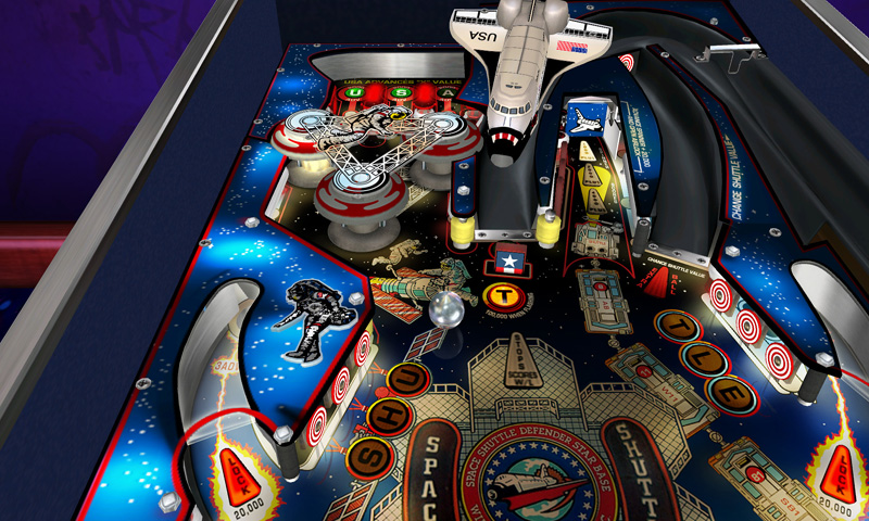 Pinball Hall of Fame: The Williams Collection 3D - Screenshot #3