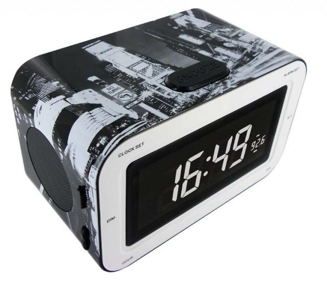 "Radio Alarm Clock ""New York"" - Packshot"