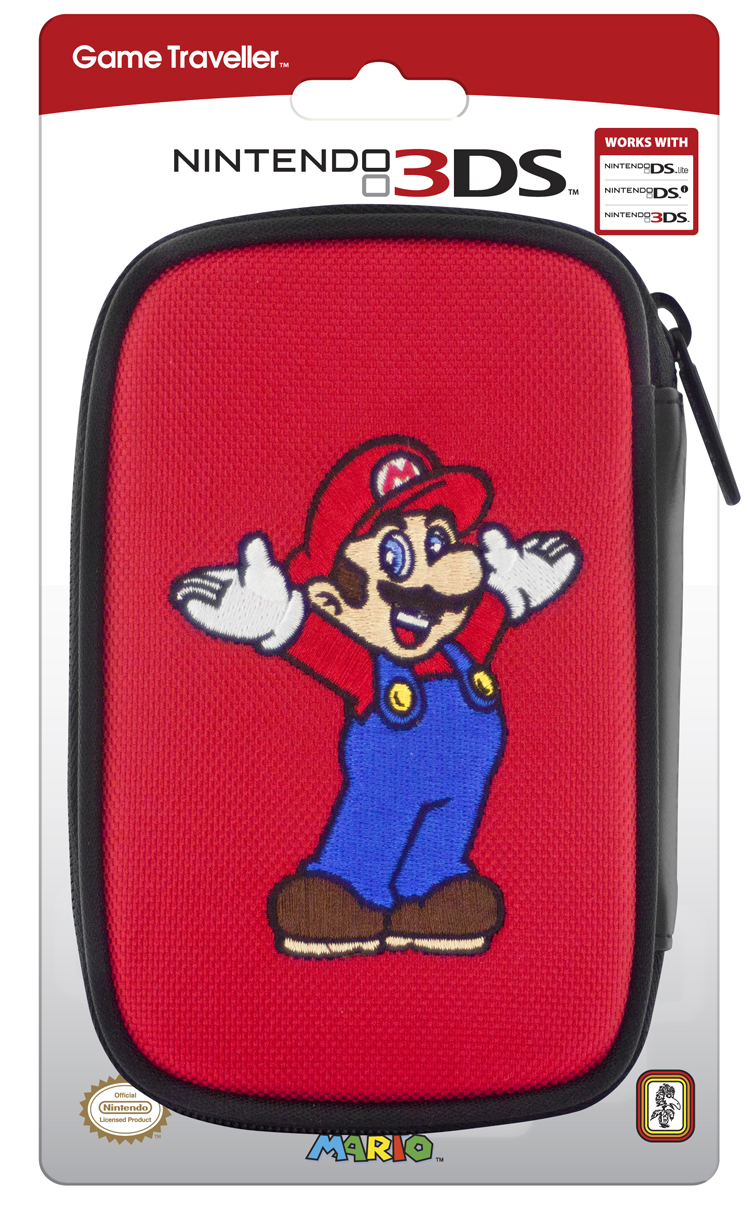 Official Mario Nintendo carrying bag for Nintendo DS™Lite/DSi™/ 3DS™ - Image