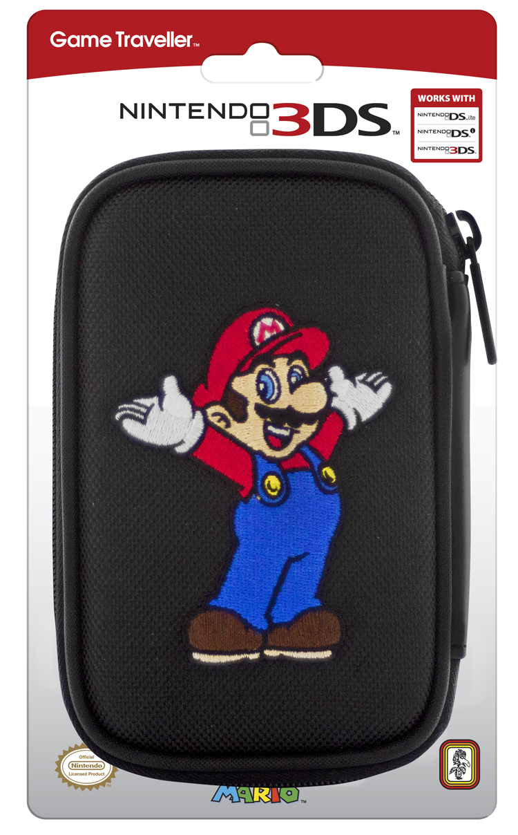 Official Mario Nintendo carrying bag for Nintendo DS™Lite/DSi™/ 3DS™ - Image   #1