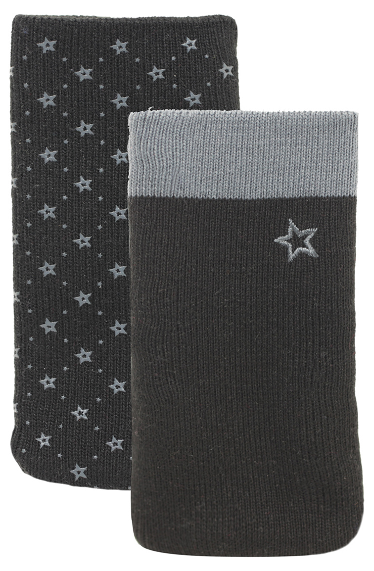 Set of two cotton sock (Black and Grey) - Packshot