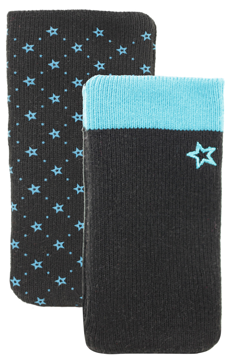 Set of two cotton sock (Black and Blue) - Packshot