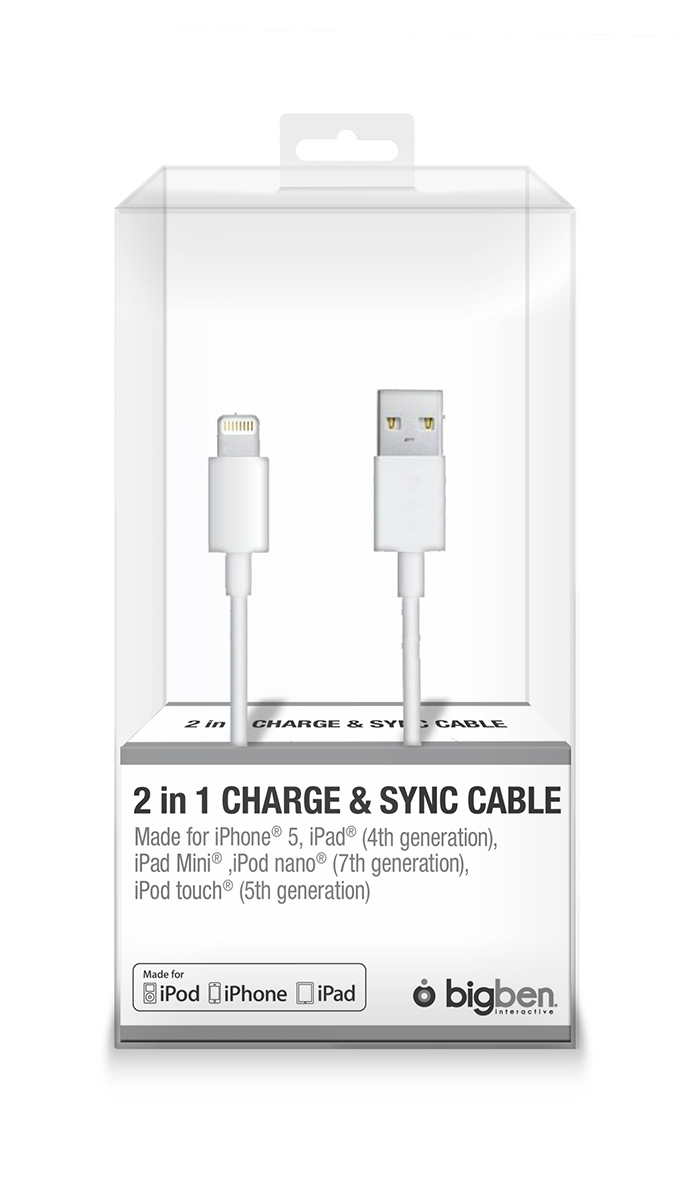 Sync cable and charge for iPhone®5 / iPad® Mini - Image   #2