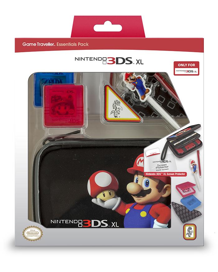 Game Traveller | Official licensed Nintendo® Mario Bros® bundle for 3DS™ XL - Image   #1