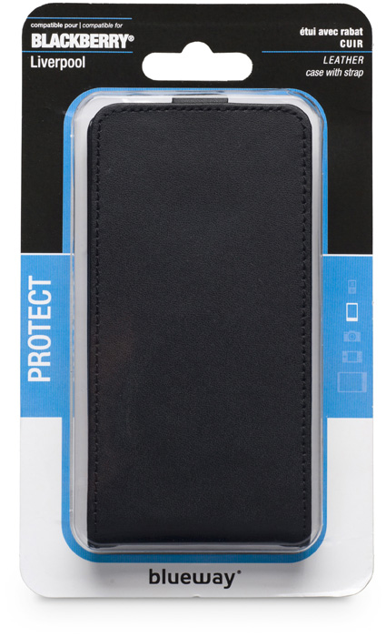 Flap case for BlackBerry Z10 (Black) - Image