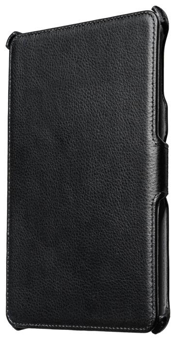 Black slim flap case for iPad® Mini - Image   #1