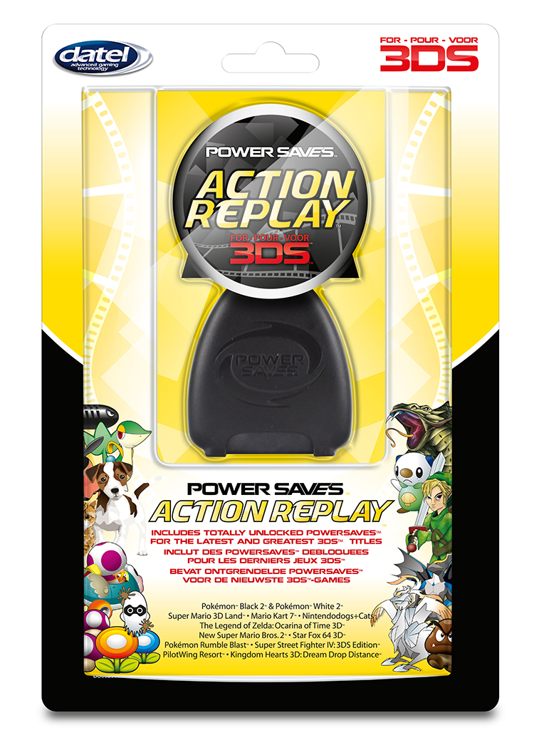 Action Replay for Nintendo 3DS™ - Image   #1