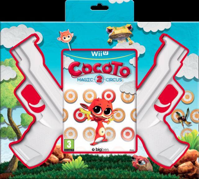 Cocoto Magic Circus 2 (+ 2 Guns) - Packshot