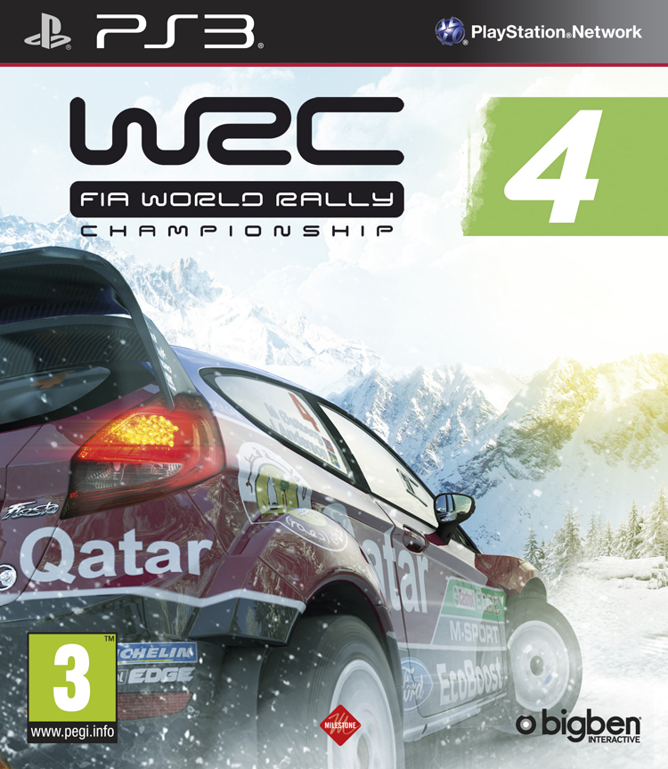 WRC 4 - FIA World Rally Championship - Packshot