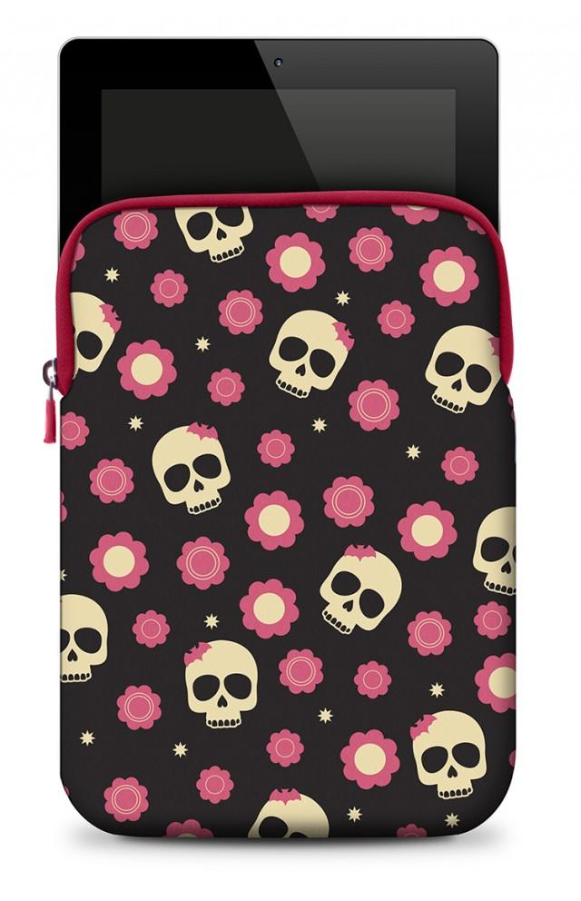 Neoprene Skin   Skulls & Roses - Packshot