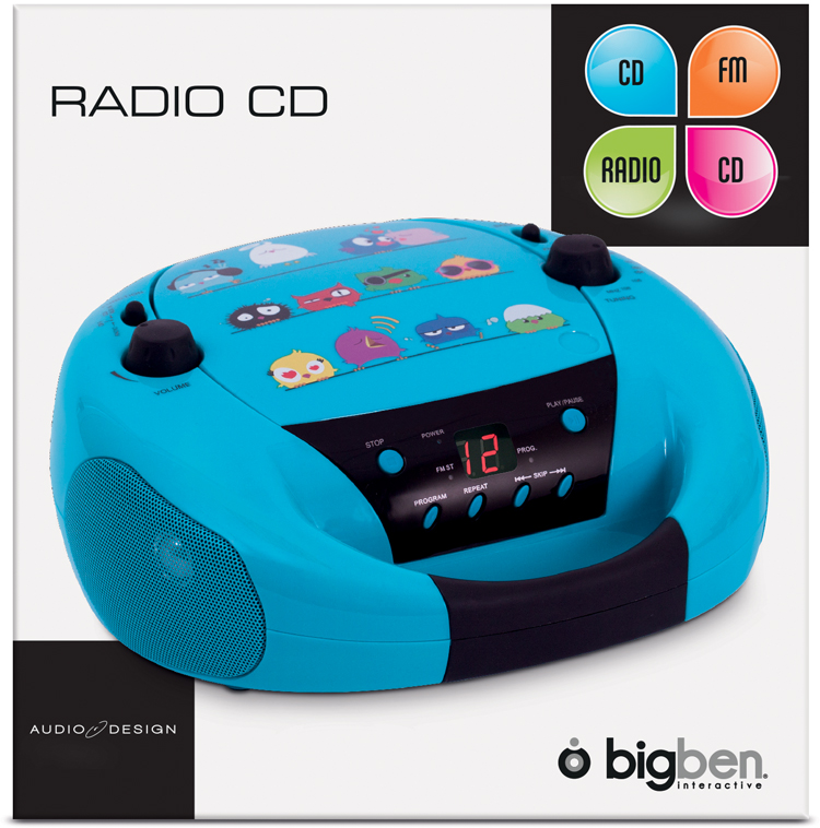 "Radio-CD player ""Birds"" - Image"