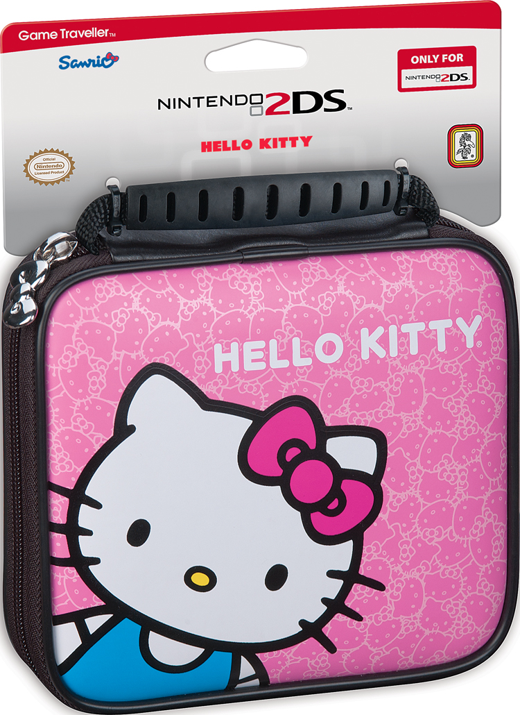 """Carrying bag for Nintendo 2DS™ """"Hello Kitty"""" - Image   #1"""