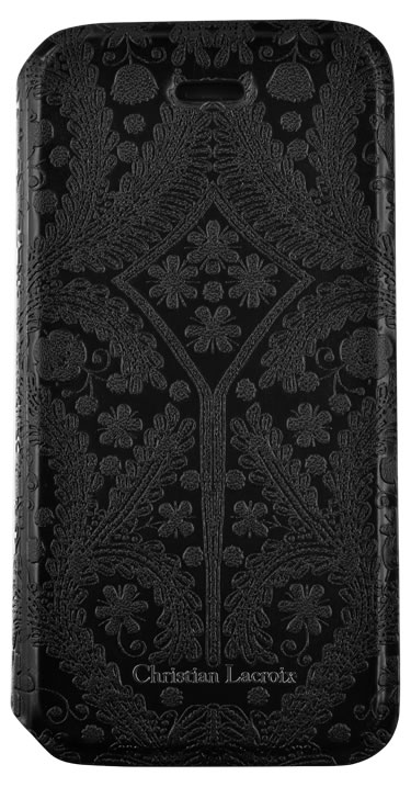 "CHRISTIAN LACROIX folio case ""Paseo"" (Black) - Image"