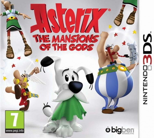 Asterix - The Mansions of the Gods - Packshot