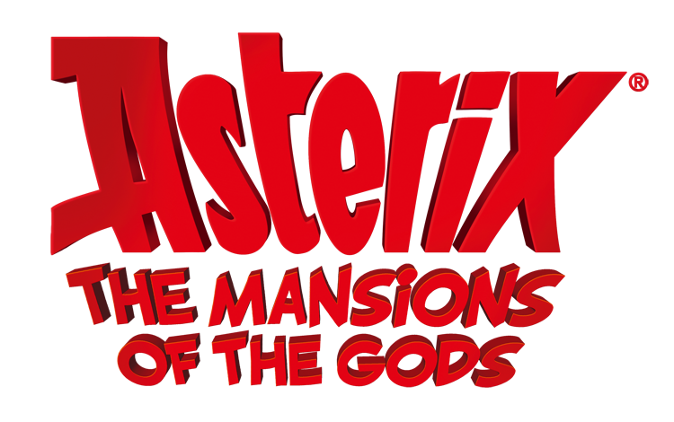 Asterix - The Mansions of the Gods - Logo
