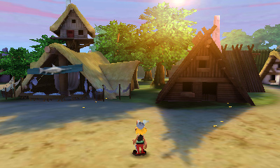 Asterix - The Mansions of the Gods - Screenshot #2