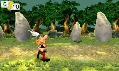 Asterix - The Mansions of the Gods - Screenshot #3