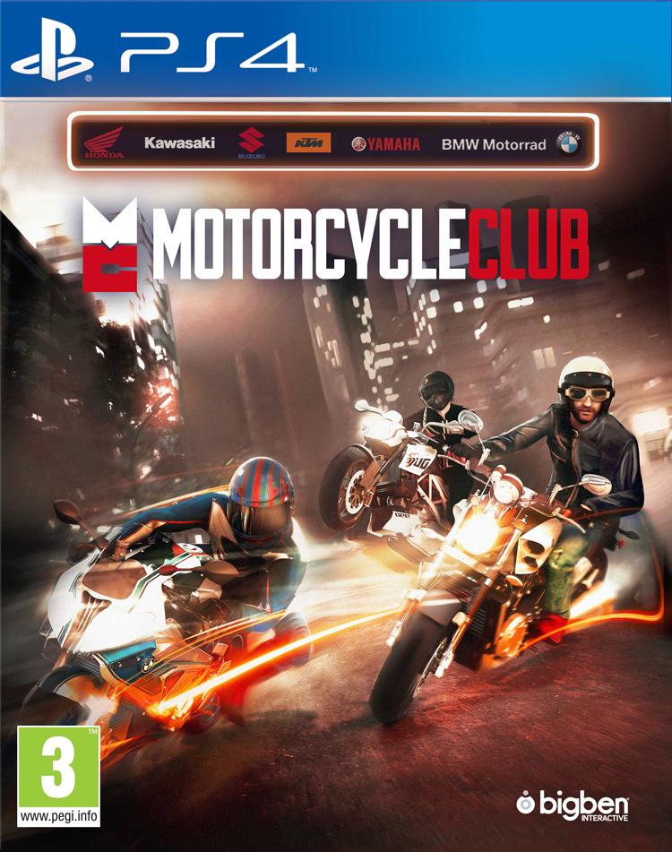 Motorcycle Club - Packshot