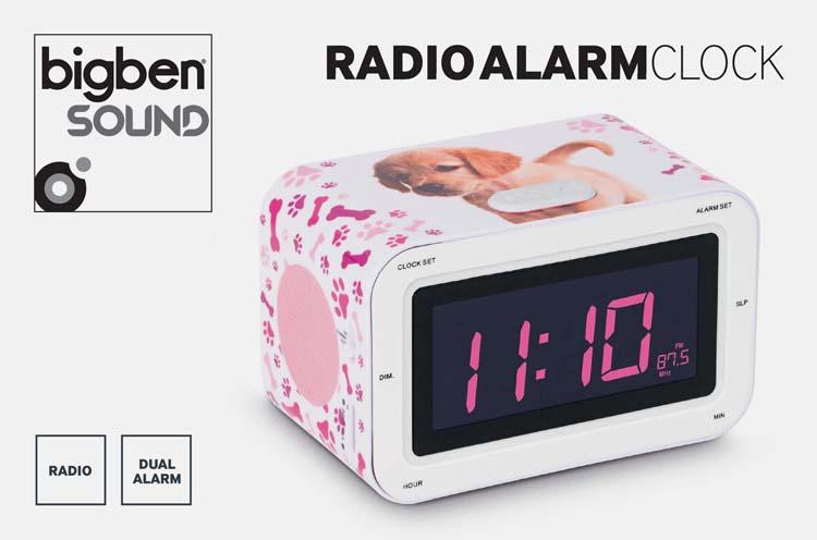 """Radio alarm clock """"Puppy"""" - Image"""
