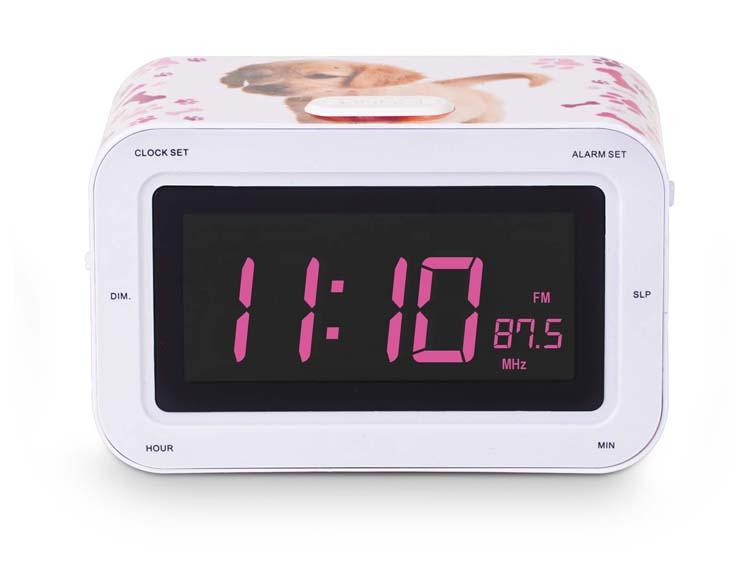 """Radio alarm clock """"Puppy"""" - Image   #1"""