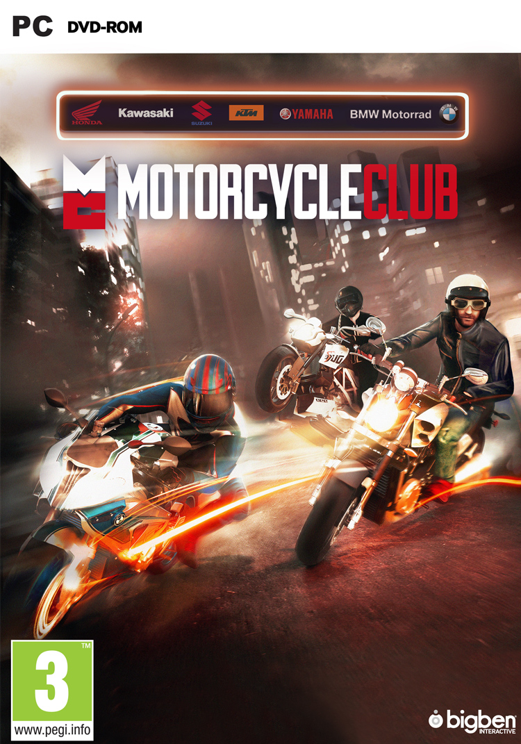 Motorcycle Club - Packshot