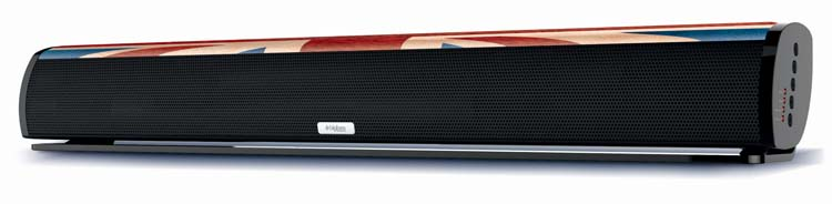 "Multimedia wireless sound bar ""UK"" - Packshot"