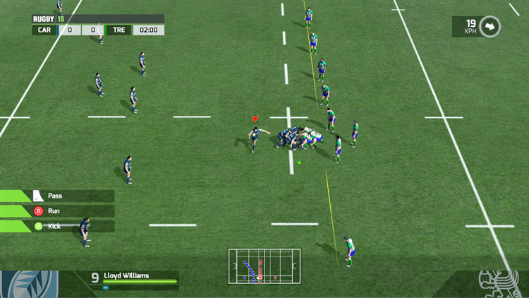 RUGBY 15 - Screenshot #2