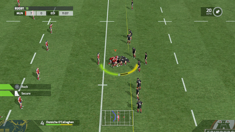 RUGBY 15 - Screenshot #3